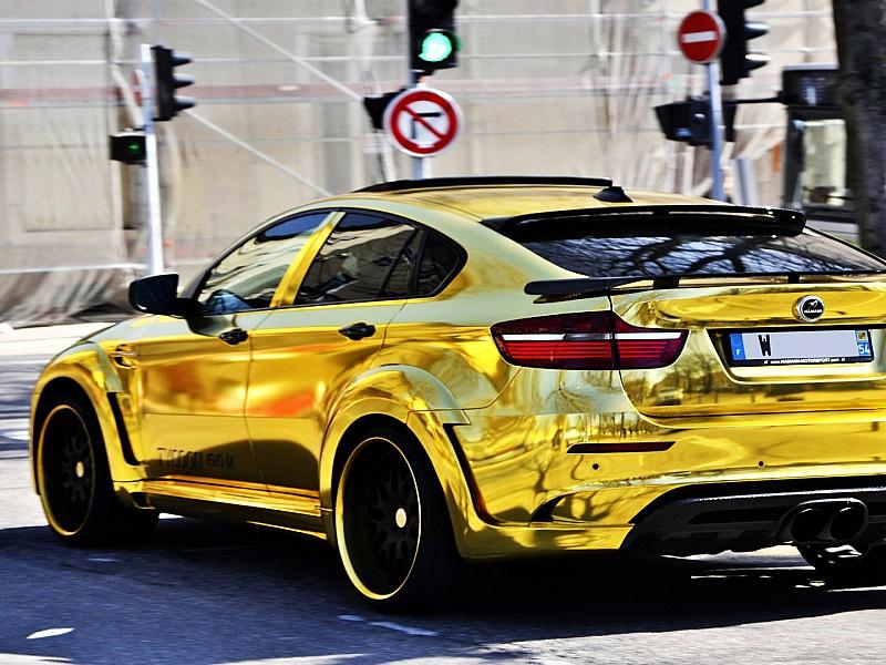 Пазл Собирать пазлы онлайн - Золотая машина