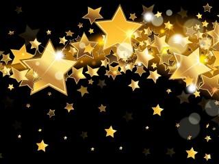Собирать пазл Золотые звёзды онлайн