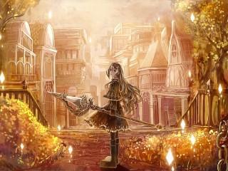 Собирать пазл Золотой город онлайн