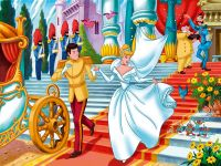 Собирать пазл Свадьба Золушки онлайн