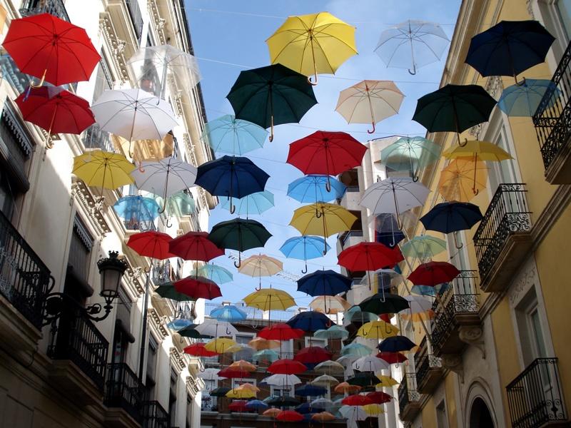 Пазл Собирать пазлы онлайн - Зонтики