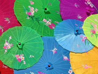 Собирать пазл Зонтики онлайн