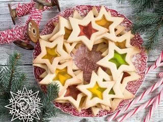 Собирать пазл Звездное печенье онлайн