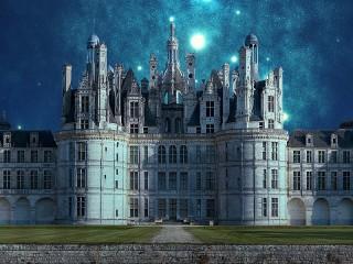 Собирать пазл Звёзды над замком онлайн