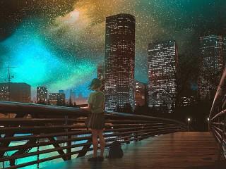 Собирать пазл Звёздный город онлайн