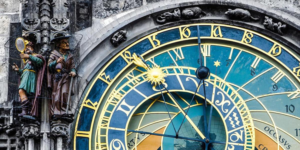 Пазл Собирать пазлы онлайн - Астрономические часы