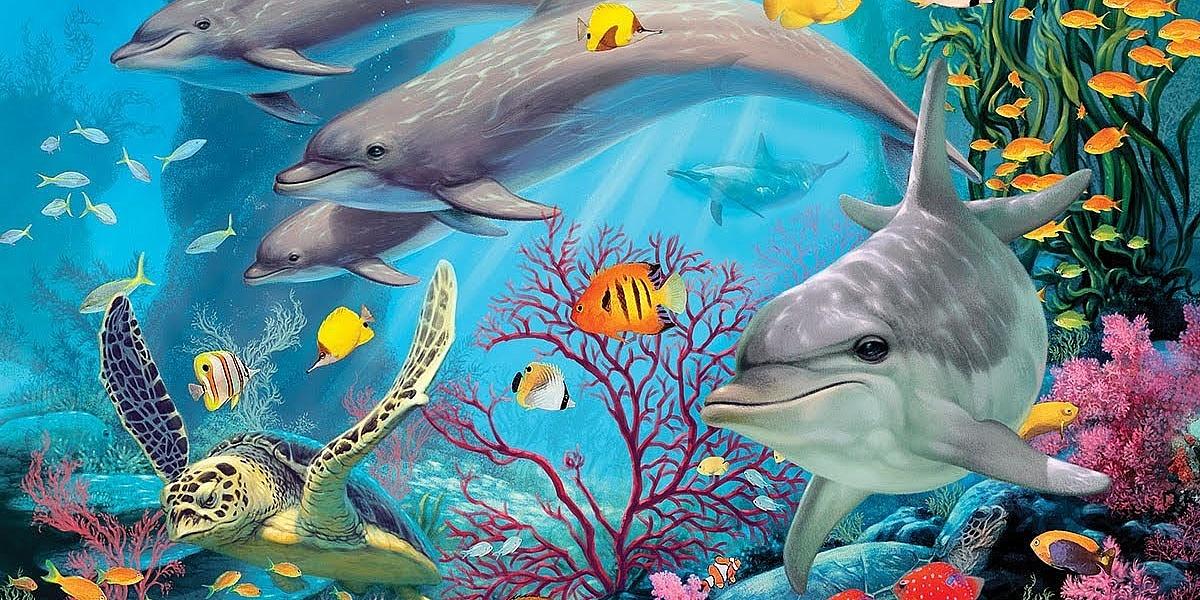 глюкоза песочные картинки рыбки и дельфин нажатии картинку