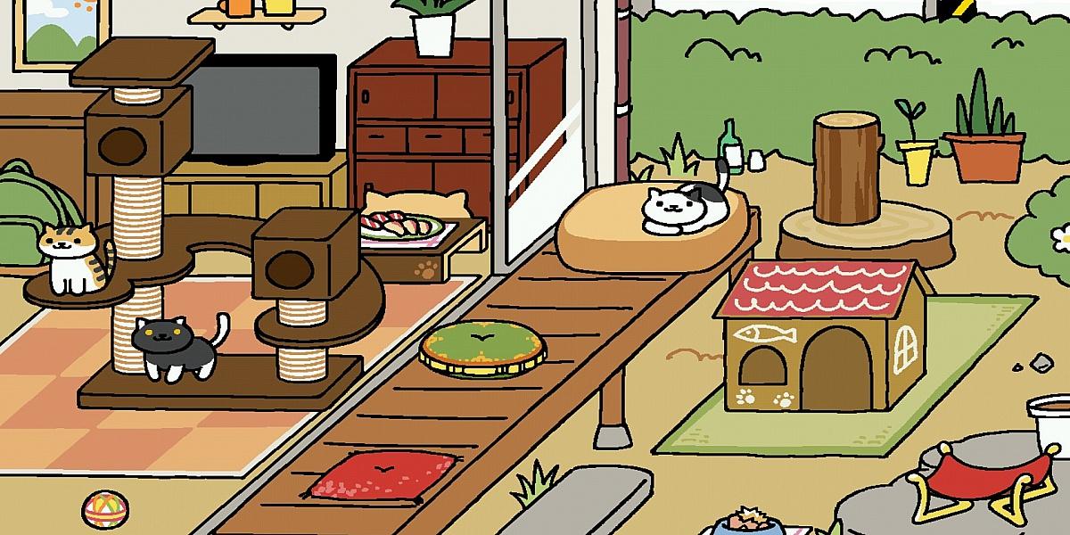 Пазл Собирать пазлы онлайн - Дом для кошек