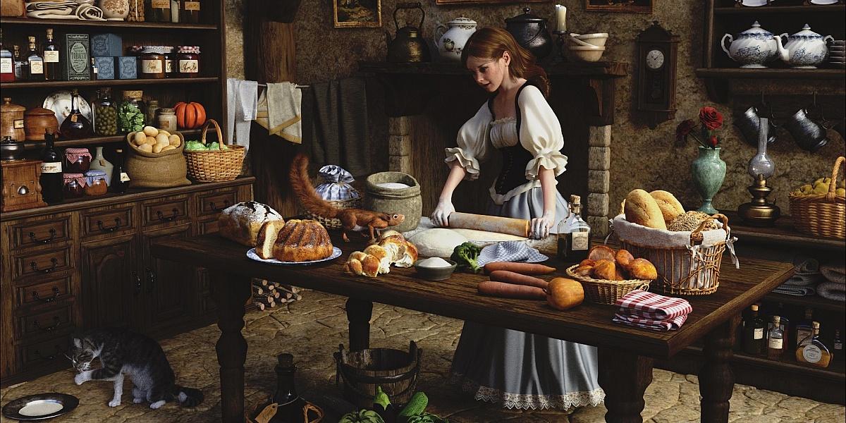 Кулинария Вкусные рецепты. Кухонное искусство