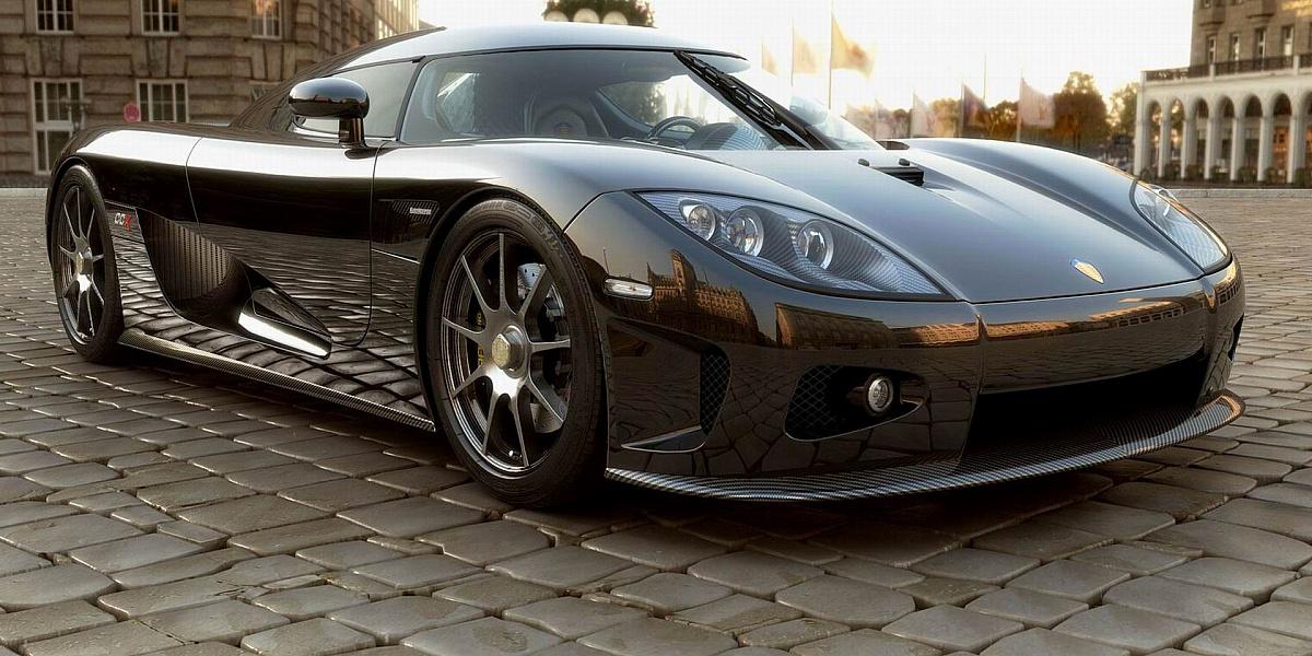 Пазл Собирать пазлы онлайн - Koenigsegg CCR