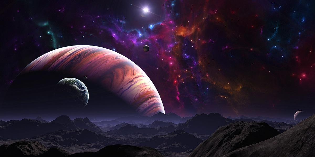 Пазл Собирать пазлы онлайн - Космос