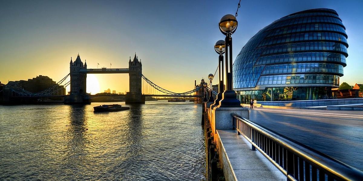 Пазл Собирать пазлы онлайн - Лондон - восход
