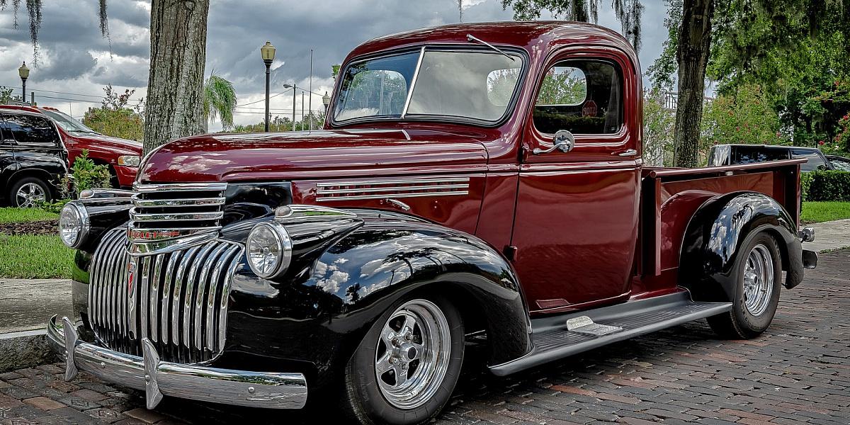 Пазл Собирать пазлы онлайн - Пикап Chevrolet
