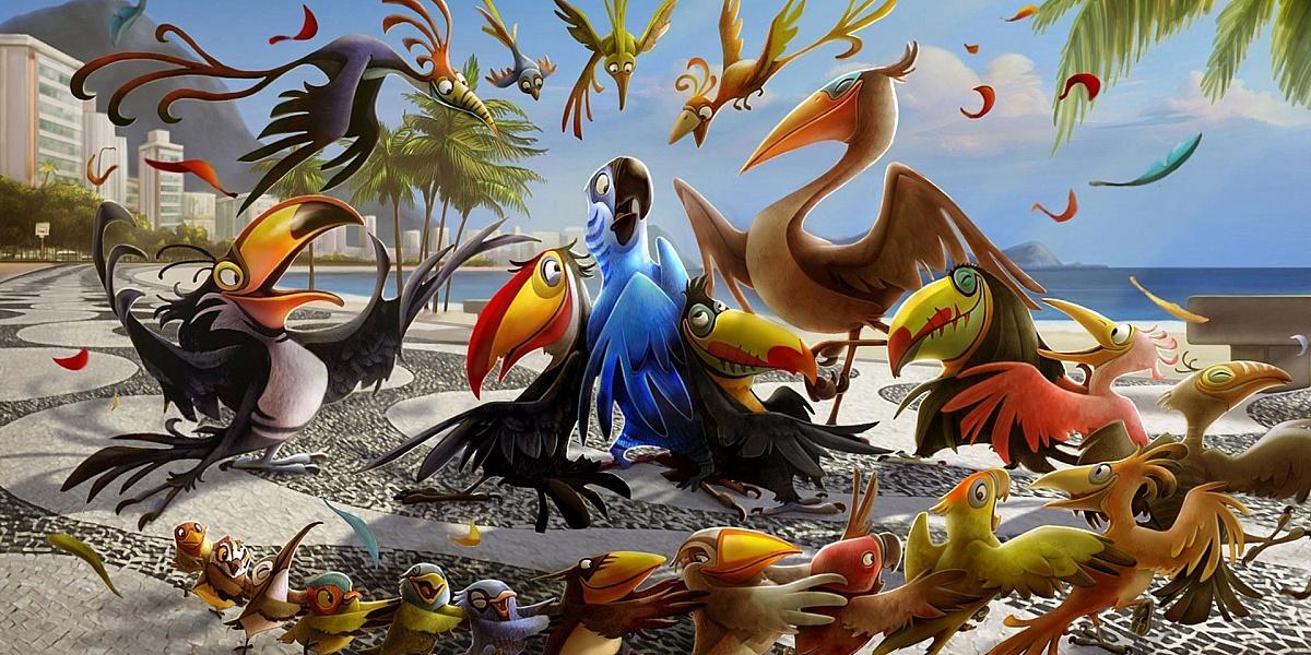 Пазл Собирать пазлы онлайн - Птицы