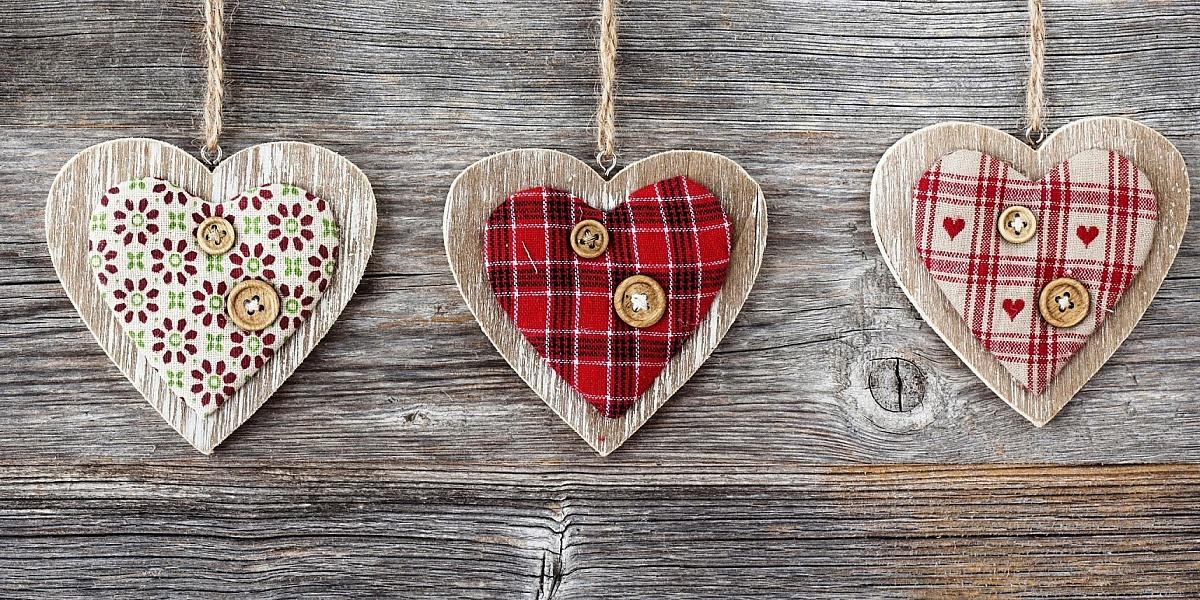 Пазл Собирать пазлы онлайн - Сердца трёх