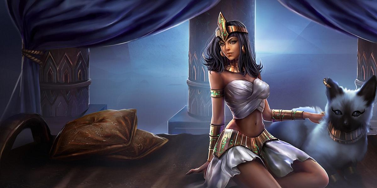 Пазл Собирать пазлы онлайн - Царица Египта