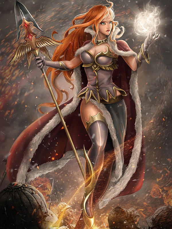 Пазл Богиня войны