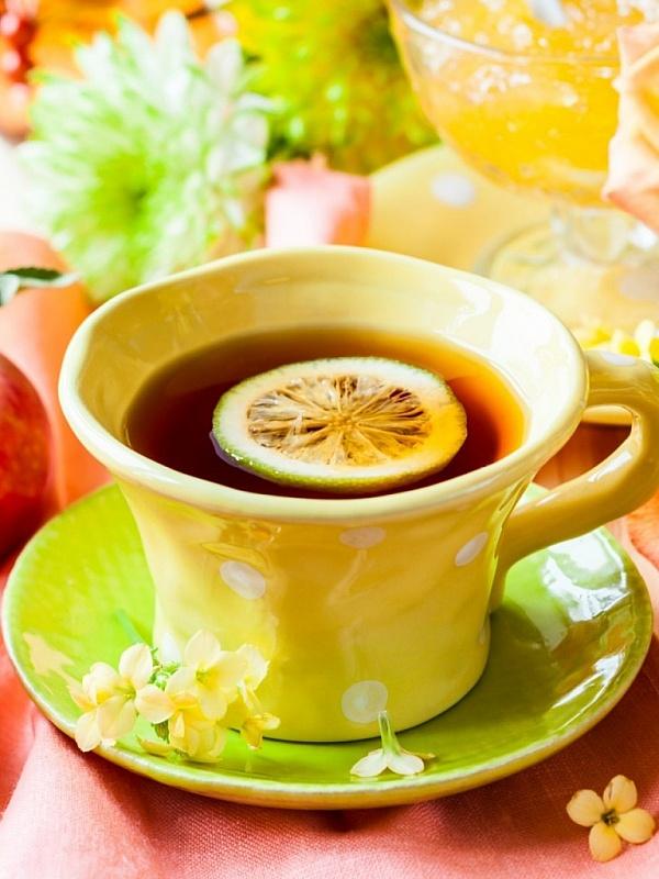 Картинках, картинка с надписью чай с лимоном