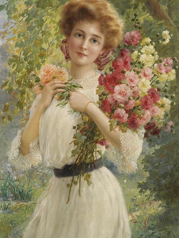 Картинка с изображением девушки