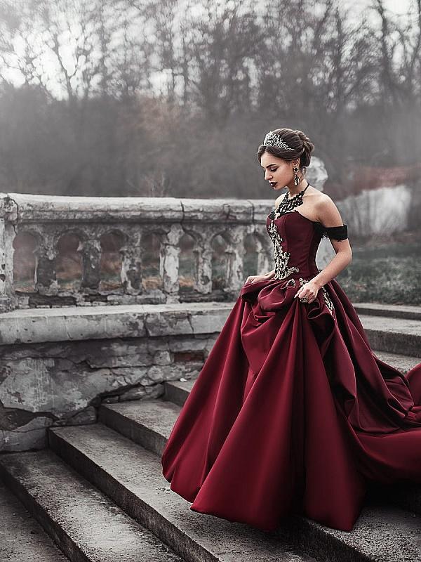 фотосессия в исторических платьях