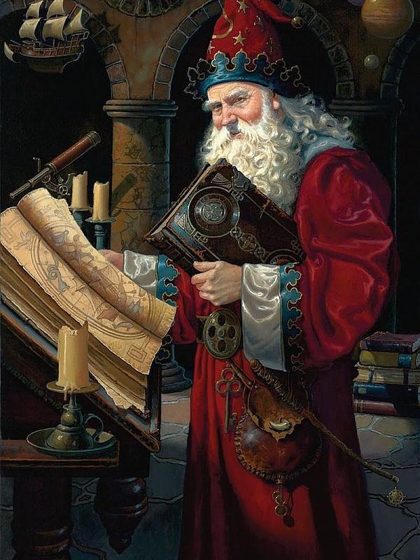 Пазл Собирать пазлы онлайн - Дом волшебника