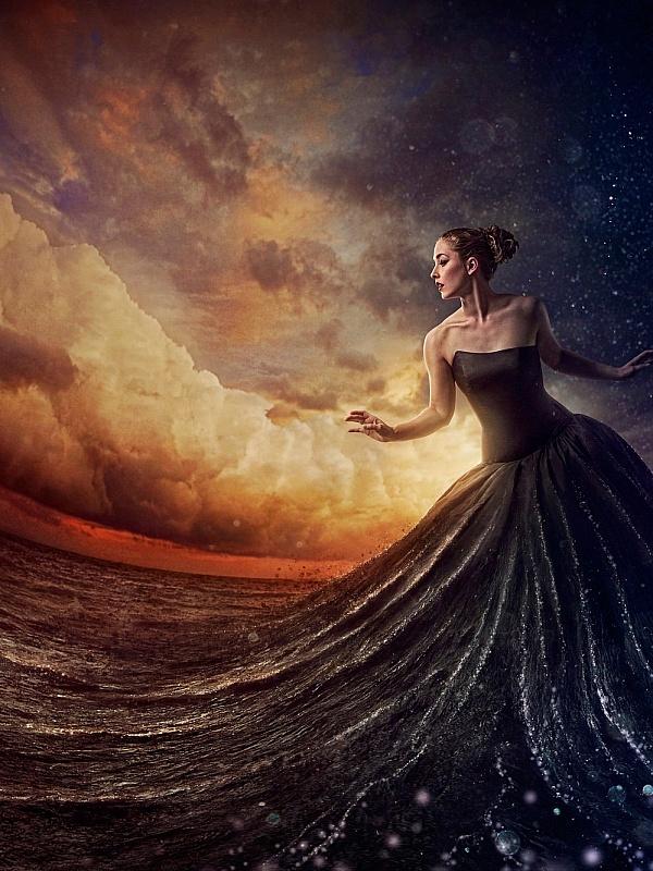 фея моря картинки дамы сливают