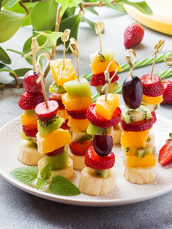 фруктовые канапе на шпажках рецепты с фотографиями меха