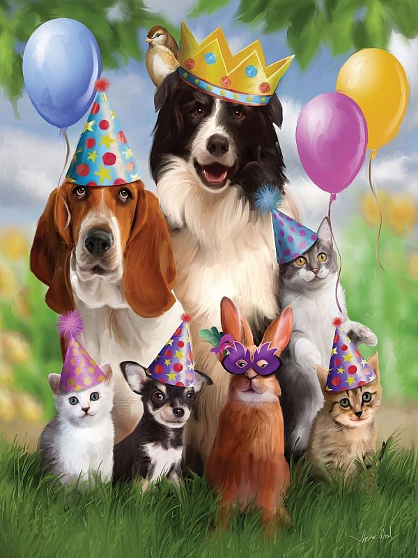 Поздравление по годам собака
