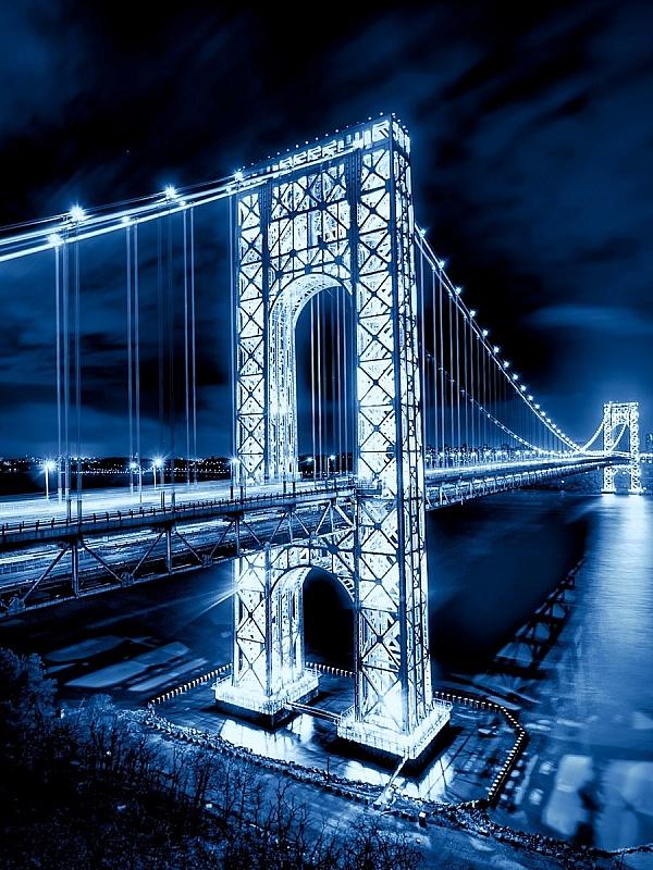 Пазл Собирать пазлы онлайн - Мост Вашингтона
