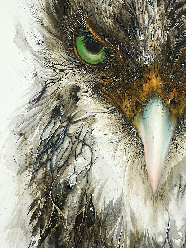 Пазл Собирать пазлы онлайн - Орёл