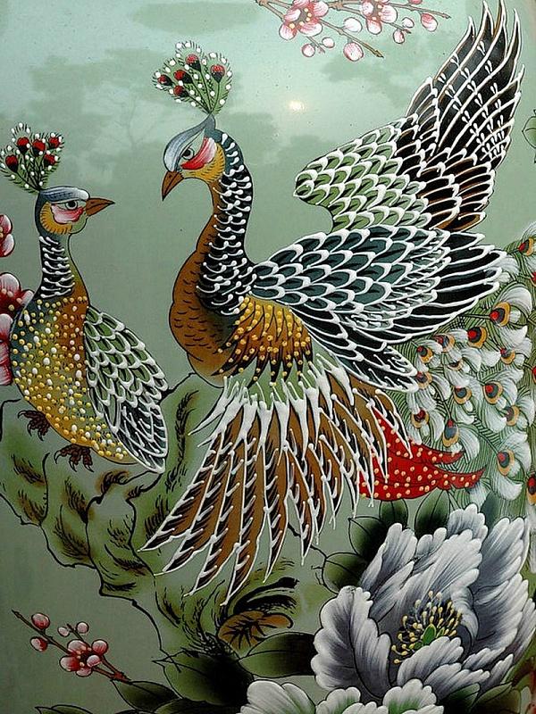 Пазл Собирать пазлы онлайн - Райские птицы