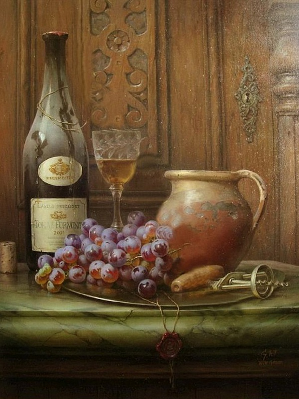 Пазл Собирать пазлы онлайн - Старое вино