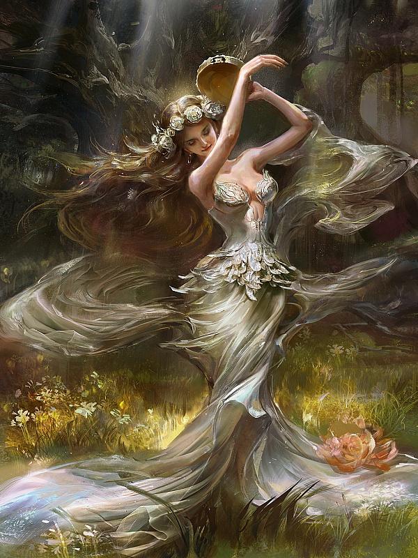 Пазл Собирать пазлы онлайн - Танцовщица
