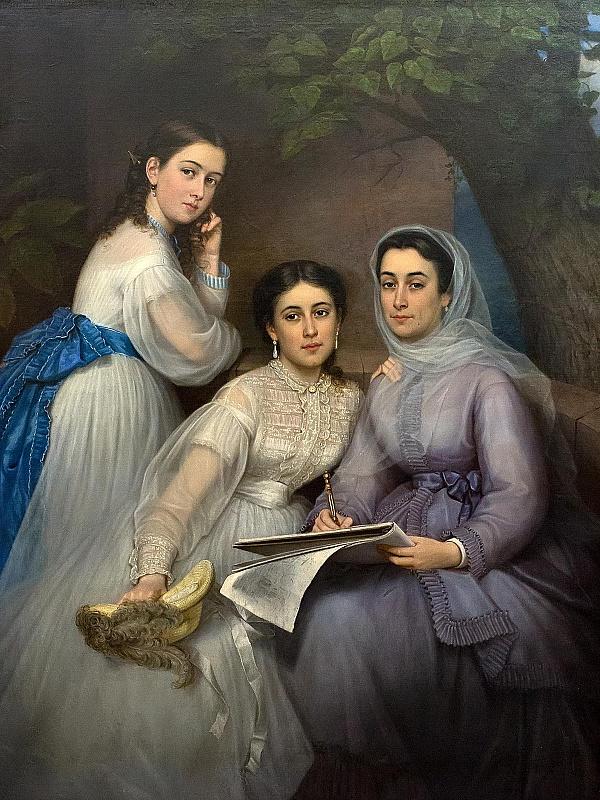 Пазл Собирать пазлы онлайн - Три сестры