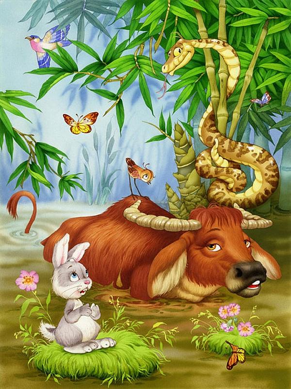 Пазл Собирать пазлы онлайн - В джунглях