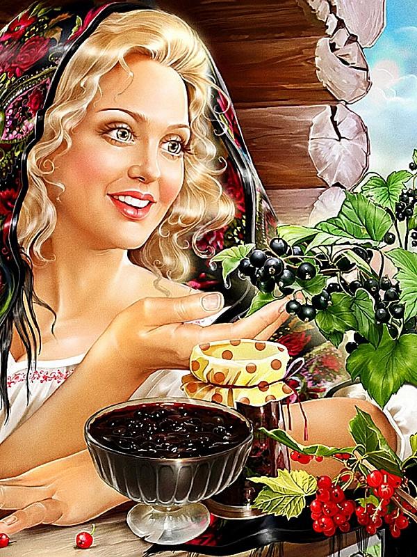 Пазл Собирать пазлы онлайн - Варенье из смородины