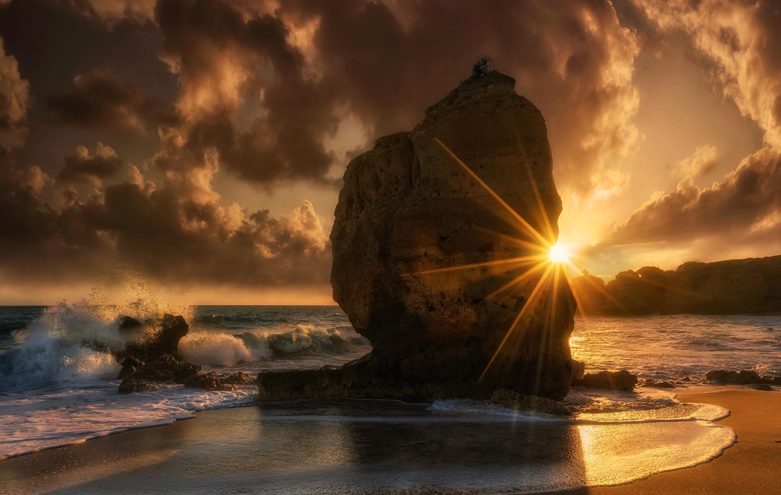 Море солнце лучи Sea the sun rays  № 1623324 загрузить