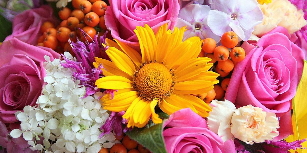 фото букетов цветов крупным планом розы